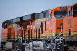 BNSF 6665 with BNSF 7278 head westbound with a Z Train towards the LA Basin.